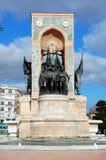 Monument der Republik in Istanbul stockbild