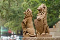 Monument in der Savanne Stockfotografie