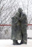 Monument des amants pluss âgé Photos stock