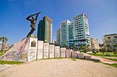 Monument des Anhängers in Durres, Albanien Stockfotografie