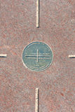monument des coins quatre Photos libres de droits