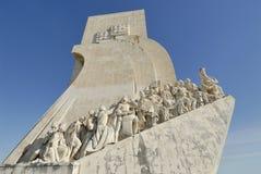 Monument des découvertes à Lisbonne, Portgal Images libres de droits