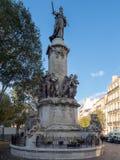 Monument Des Mobiles, Marseille stock fotografie