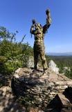 Monument des mythes de héros du grec ancien image libre de droits