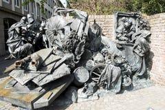 Monument des privilèges de concession de Dusseldorf image libre de droits