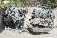 Monument des privilèges de concession de Dusseldorf photo libre de droits