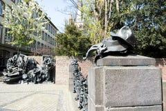 Monument des privilèges de concession de Dusseldorf photographie stock