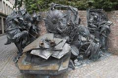 Monument des privilèges de concession de Dusseldorf photos libres de droits