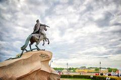 Monument des russischen Kaisers Peter der Große, bekannt als die Bronze Lizenzfreies Stockfoto