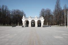 Monument des unbekannten Soldaten in Warschau Lizenzfreie Stockfotos