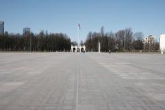 Monument des unbekannten Soldaten in Warschau Stockfotografie