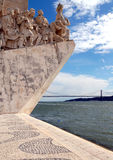 Monument  of discoveries Royalty Free Stock Photo