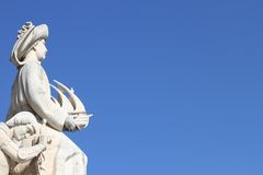Monument of the Discoveries Royalty Free Stock Images