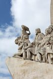 Monument of discoveries Stock Photography