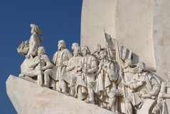 Monument of discoveries royalty free stock image