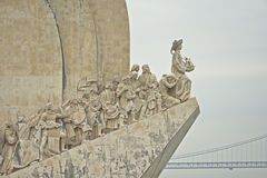 Monument of discoveries, belem, lisbon  (Padrão dos Descobrimentos) Royalty Free Stock Photography