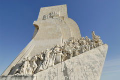 Monument of Discoveries in Lisbon, Portgal. The Monument of Discoveries in Lisbon, Portgal Royalty Free Stock Images