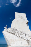 Monument of discoveries, Lisbon, Portugal royalty free stock photography