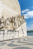 Monument of Discoveries in Lisbon Stock Image