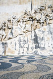 Monument of Discoveries in Lisbon Stock Images