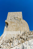 Monument of Discoveries in Lisbon Royalty Free Stock Photo
