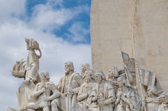 Monument the Discoveries Stock Photography