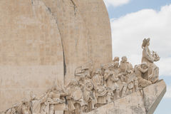 Monument the Discoveries Royalty Free Stock Photo