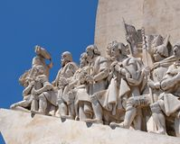 Monument of discovery in Lisbon - Portugal