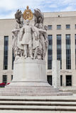 Monument District Court Washington DC Royalty Free Stock Images