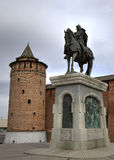 Monument of Dmitry Donskoy Stock Images