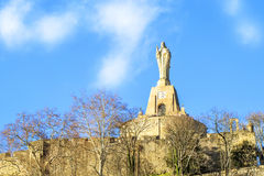 Monument du Christ dans San Sebastian photo libre de droits