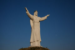 Monument du Christ le roi Photographie stock