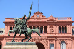 Monument du Général Belgrano Photos stock
