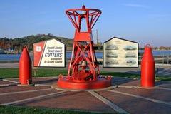 monument du garde côtier photo stock