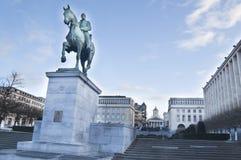 Monument du Roi Albert chez Kunstberg photos libres de droits