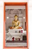 Monument du Roi San Muang Ma en Wat Faham Photographie stock