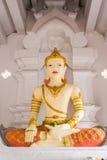 Monument du Roi San Muang Ma en Wat Faham Images libres de droits
