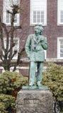 Monument Edvard Grieg Stock Photos