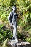 Monument Edvard Grieg Trollkhaugen, Noorwegen Stock Afbeeldingen