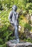 Monument Edvard Grieg Trollkhaugen, Noorwegen Stock Afbeelding
