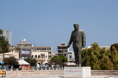 Monument Eleftherios Venizelos. One of the leaders of the revolutionaries who sought in 1897 unification of Crete with Greece. Heraklion, Greece Royalty Free Stock Photography