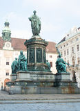 Monument of emperor franz I Stock Image