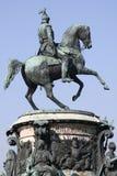 Monument of the emperor Nikolaya first Stock Photos