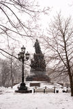The monument of empress Catherine II Royalty Free Stock Photo