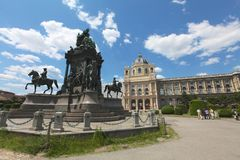 Monument of Empress Elisabeth of Austria Royalty Free Stock Photography
