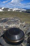 Monument en montagnes rocheuses Images stock