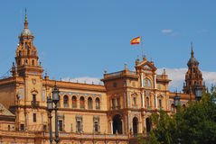 Monument en Séville, Espagne Photo stock