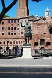 Monument Engels Rome in Italië Stock Afbeeldingen