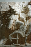 Monument in Ephesos Royalty Free Stock Photography