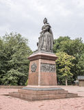 Monument erected by Empress Elizabeth Royalty Free Stock Images
